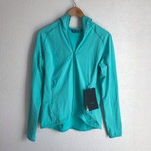 Arc'teryx Adahy Hoody Lightweight Jacket sz M Aqua
